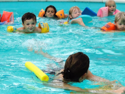 Swimming class for early years students (FISP)